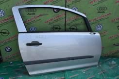 Дверь передняя правая Opel Corsa D (06-14г) голое железо (3-х дв х/б)
