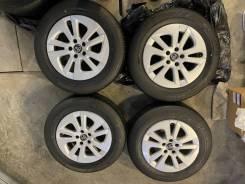 Комплект родного литья на летней резине Toyota Prius 50 кузов!