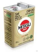 Mitasu Moly-Trimer. 0W-20, синтетическое, 4,00л.
