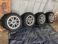 Комплект 195/65/15 Лето на литье Toyota 5/100 Dunlop