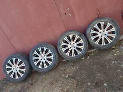 "Комплект летних колес 205/55R16 4 на 100 Made in Japan. 6.5x16"" 4x100.00 ET43 ЦО 73,0мм."