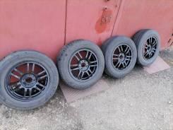 Кованные диски slik с резиной Dunlop на ВАЗ