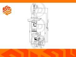 Стойка газомасляная JD JAS0372 правая передняя