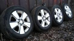 Летние колеса Rapid R16 5x108 с резиной 215/60 Dunlop