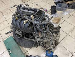 Двигатель 1zz в сборе с акпп Toyota wish