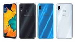 Samsung Galaxy A30. Новый, 32 Гб, Белый, Синий, Черный, 4G LTE, Dual-SIM, NFC