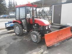 Taishan. Коммунальный трактор TS-254 с отвалом и щеткой, 1 628куб. см.