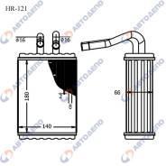 Радиатор отопителя салона Toyota Liteace ( арт. HR-121 ) HR-121