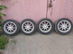 Оригинальные диски Honda EuroR cl1 на летней резине