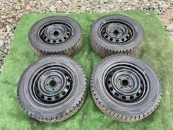 Комплект колес 185/65R14 на штампованных дисках 4x100 Honda Airwave