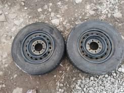 Продам пару колес 195/80R15
