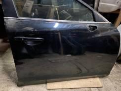 Передняя правая дверь в сборе, черная Mazda 6 GJ