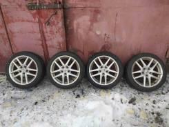 Оригинальные 17е диски Honda Accord 7 на зиме