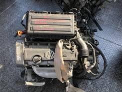 Двигатель Volkswagen CGGA CGG 1.4 литра с АКПП LWX