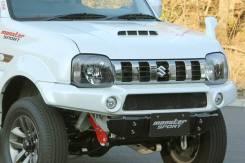 Передний бампер Monster Sport для Suzuki Jimny jb 33 и 43 кузов (HFF)