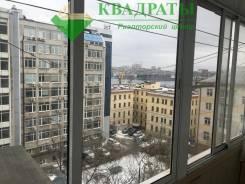 1-комнатная, улица Посьетская 28а. Центр, проверенное агентство, 31,2кв.м. Вид из окна днём