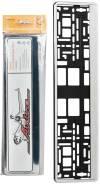 Рамка под номерной знак Хром AFC-07 [AFC-07]