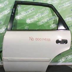 Дверь боковая Toyota Sprinter E11# задняя левая