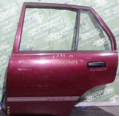 Дверь боковая Toyota Starlet P8# задняя левая