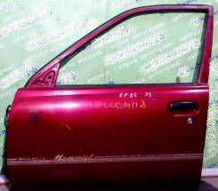 Дверь боковая Toyota Starlet P8# передняя левая