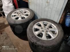 Продам литье с резиной Toyota R16 5*114/3 215*60