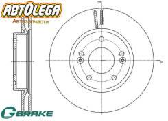 Диск тормозной передний G-brake KIA SOUL 08- GR-21114