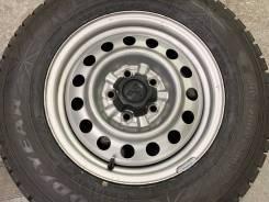 205/70R15 Goodyear Ice Navi 6 japan + диски Mitsubishi 6j Серые 5*114