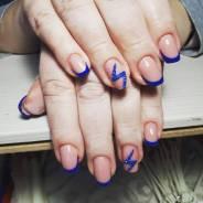 Наращивание ногтей и гель лак
