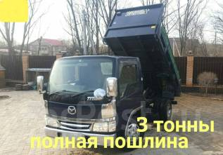 Mazda Titan. , самосвал 3 тонны, 4 600куб. см., 3 000кг., 4x2