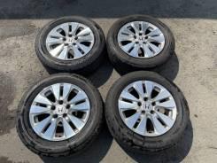 Комплект колёс оригинал Honda R16 с шинами 215/60R16 Bridgestone