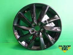 Диск колёсный литой R16 EJ6 5x100 ET40 Ц.О.57,1 (60U601025D) Skoda Rapid с 2013г Шкода