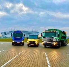 Scania. Каналопромывочный илосос, 11 762куб. см.