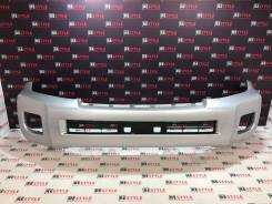 Бампер передний Toyota Land Cruiser 200 2м 12-15г Серебро