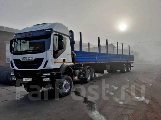 "Iveco Trakker. Тягач Специальный""Iveco-AMT 633910""(6х6) кабина AT720T45W двухспальная, 13 000куб. см., 27 000кг., 6x6. Под заказ"