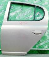 Дверь боковая Toyota Vitz P1# задняя левая