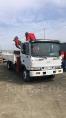 Hyundai Mega Truck. Кран-балка, кран манипулятор , 6 606куб. см., 5 195кг., 4x2