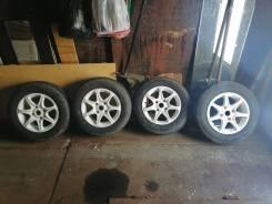 Колеса в сборе, шины новые, диски б/у.