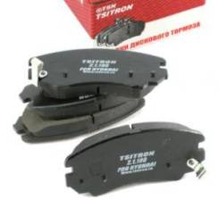 Колодки дискового тормоза Tsn 21180 Hyundai / Kia (Mobis): 58101-2CA20 58101-2EA11 58101-38A90 58101-38A70 58101-38A81 Hyundai Coupe (Gk). Hyundai