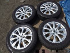 225/55 R17 Dunlop DSX-2 2015г на литье 5*114,3 Weds Axel