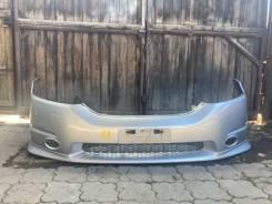 Бампер передний Honda Odyssey rb1 rb2 серебристый