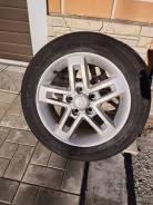 Продам диски, шины 205 55 R16 летние на бу