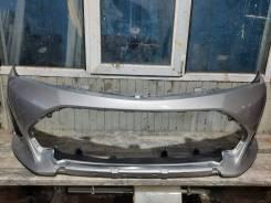 Передний бампер на Toyota Corolla Fielder NZE161, NKE165