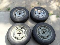Зимние колеса: шины 165/70R13 Gislaved на штампах ВАЗ 4x98.