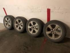 Отличные колёса на зимней резине и оригинальном литьё Lexus