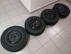 Комплект диски 5/98-100 ЦО 54.1+шины Cordiant Polar 185/65 R14 86Q!