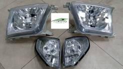 Фары с габаритами для Toyota LAND Cruiser Prado 90, 95 (96-02)