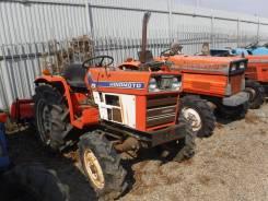 Hinomoto E224. Трактор 22 лс, 3 цилиндра, 4 wd, фреза, 22,00л.с.