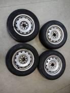 Колеса штамповки R14, 4 шт. с шинами Bridgestone Nextry