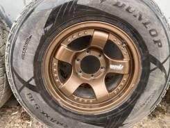 Продам комплект колес 275/70/16 Dunlop SJ8+диски Weds