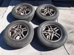 Продам коплект летних колес бриджстоун на литых дисках.